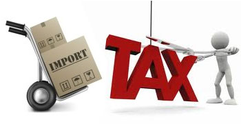 Duty and taxes to import to Spain from outside European