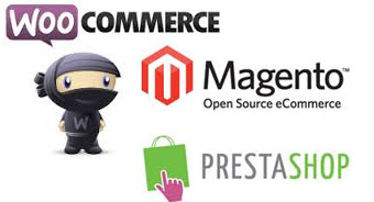shipping prices magento woocommerce prestashop shopping carts