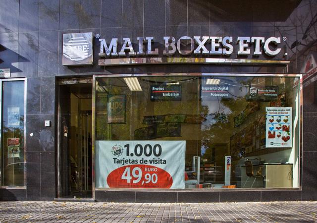 Mailboxes cordoba fachada