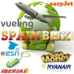 Suplemento facturacion de maletas en aerolineas lowcost Ryanair, Vueling, Easyjet e Iberia