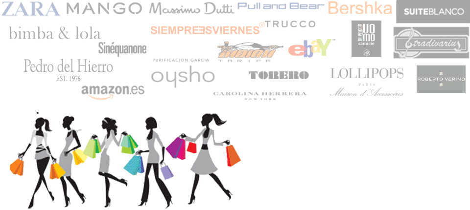 Shop Online in Spain and we will forward your purchases to your country worlwide