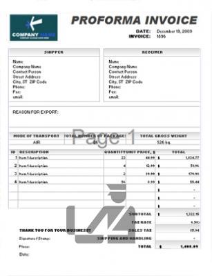 pro-forma-invoice-exportacion-importacion