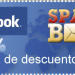 Cupon de descuento de 15% solo por seguirnos en facebook