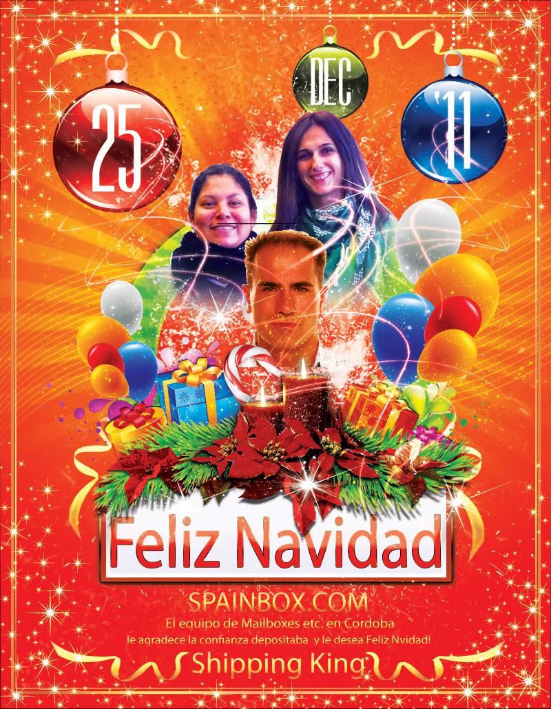 SpainBOX les desea feliz navidad y prospero año nuevo 2012