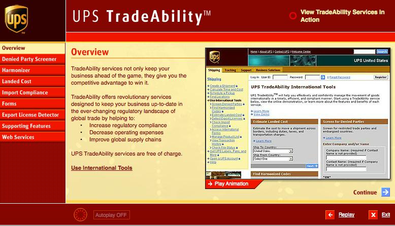 UPS tradeability