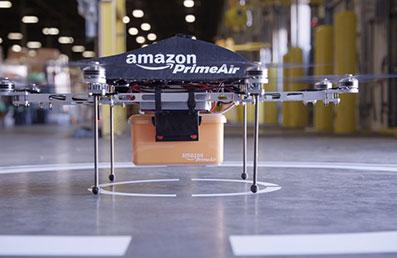 Amazon experimenta con aviones no tripulados Octocopteros, que entregarán Paquetes en 30 Minutos Primer Air