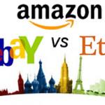 Guía para vender en Amazon, Ebay y Etsy los mayores mercados en línea